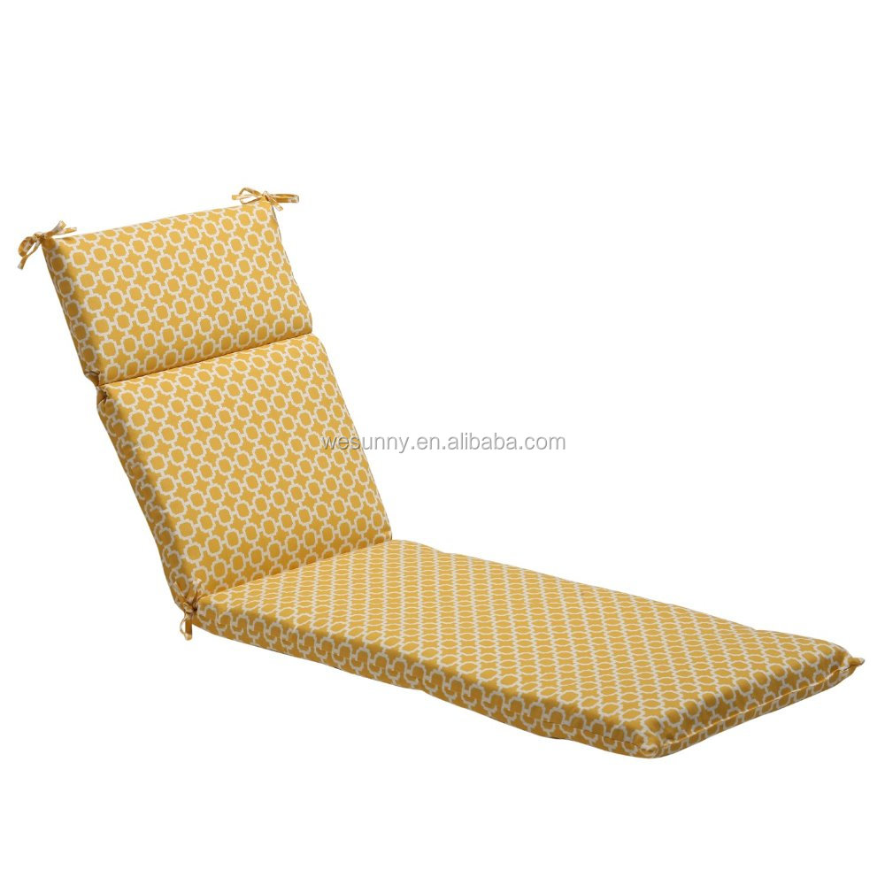 wholesale outdoor waterproof lounger chair cushion buy back support