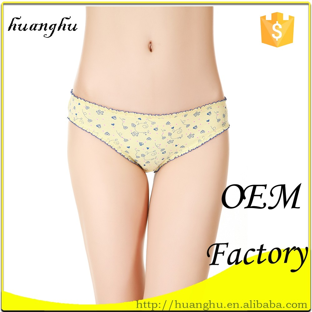 new arrival briefs with fashion design tage with brand name ladies underwear bra short