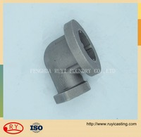 ductile cast iron and greycast iron of casting pipe fittings