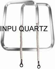 Infared quartz heater elements with CE certification of square sharp (D sharp)