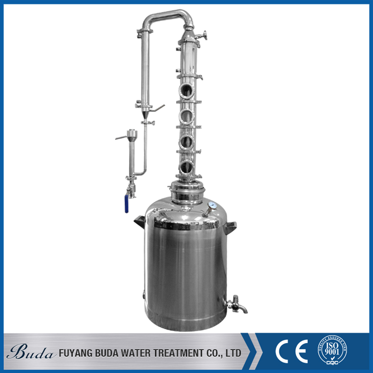 Fuyang buda liquor distillation equipment/ industrial alcohol distillery/ red copper distiller