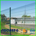 wire mesh factory supply hot sell pvc/ plastic coated grid mesh