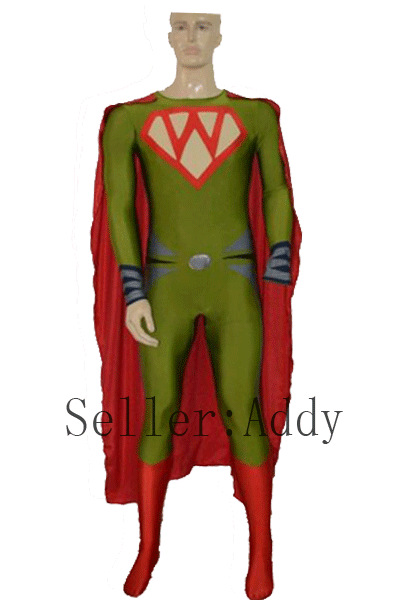 get quotations 2015 w superhero spandex costume with cape halloween costumes