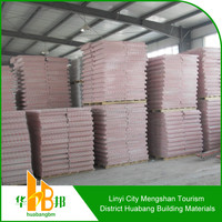 soundproof unit weigh pvc laminated gypsum board