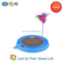 China Top Ten Pet Products Plastic Cat Ball Track