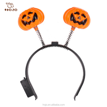 Halloween LED Pumpkin Hairpin Flash Headband Light Up Hair Clips Party Gift
