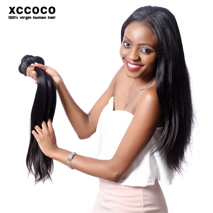 Hot Selling 8-28 inches 1b# Straight Wave Latest Hair Weaves in Kenya