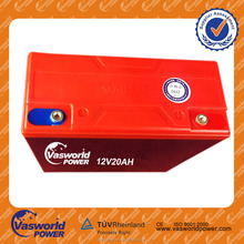 high quality maintenance free electric vehicle 12v 20ah electric vehicle battery