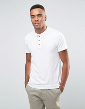 Guangzhou High Quality Best-selling Manufacture 180g 100% Cotton Plain Dyed Short Sleeve White Button O-neck Men's T shirt