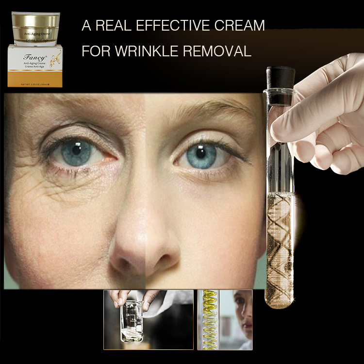 Suerte cream facial removing wrinkle girl and