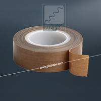 new product!! High quality Teflon PTFE fiberglass tape/polyester silicone adhesive tape
