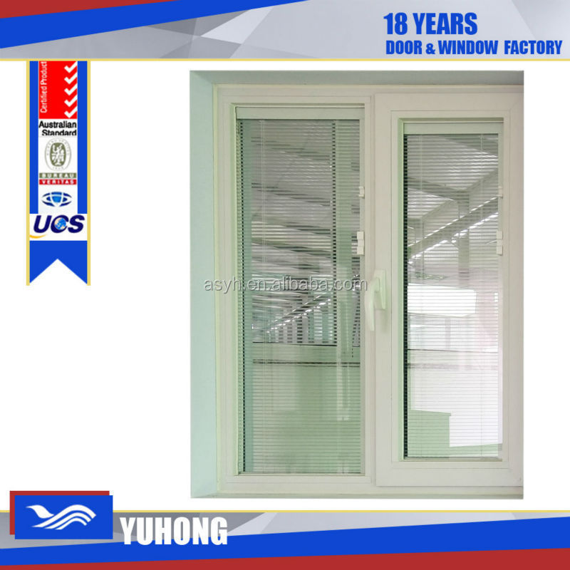 pvc jalousie window manufacturer with double glass