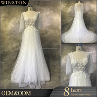 supply all kinds of crystal embellished wedding gowns