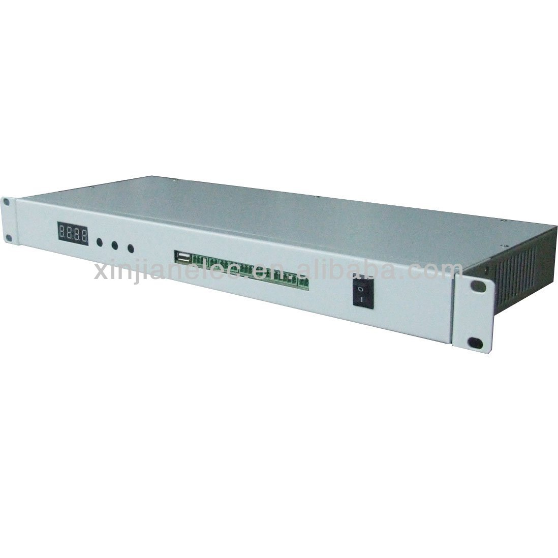 Intelligent environmental monitoring system for server room