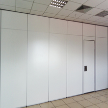 Commercial Furniture Operable and Sliding Office Soundproof Room Dividers with Passing Door