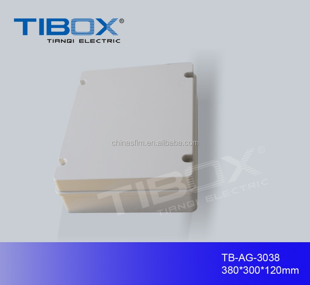 TIBOX hinged plastic electrical enclosure/abs plastic electrical enclosure