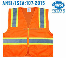 American standard Cheap safety vest with hi-vis tape for jogging and running