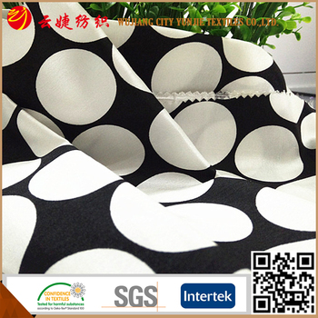 Simple style big dot pattern fabric for home decoration