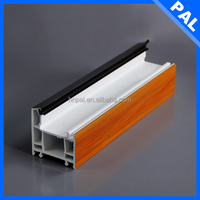 hungary Heat insulation aluminum window frames mosquito netting With grill design