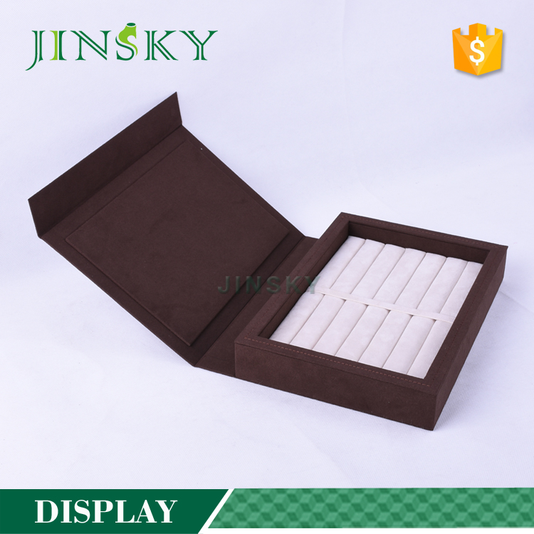 Wooden Jewelry Rings Display Tray