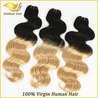 2014 hot sale 6A Grade 613 blonde hair bundles