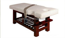 hot sale wood beauty bed therapeutic massage bed