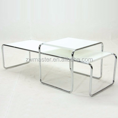 New arrival Marcel Breuer LaccioTable replica plywood office coffee table