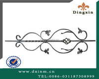 Factory Prices Cast Steel Craft Wrought Iron forsliding iron main gate design
