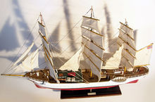 Wooden Ship model Solandet Nautical DEcor