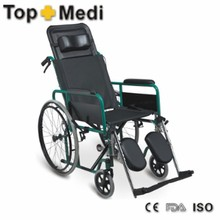 TRW954GC-46 High Back Reclining Wheelchair With Manual Control For Cheap Price