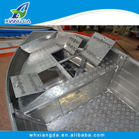 2015 China CE Certificate High Quality Low Price Aluminum Deep V Hull Bottom Boats
