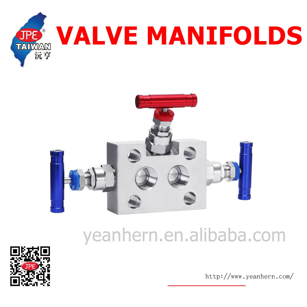 100% Factory Tested Certificate of Origin 3 Way Valve Manifold