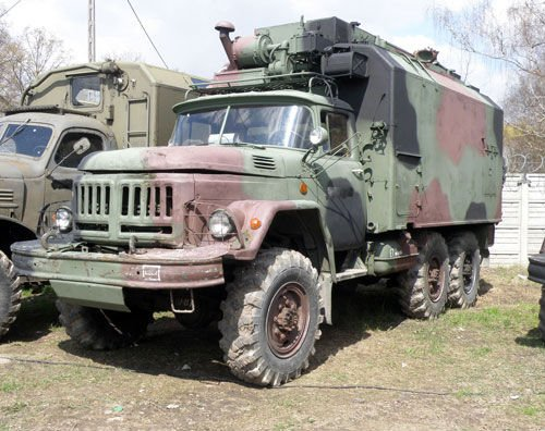 Zil 131 military truck