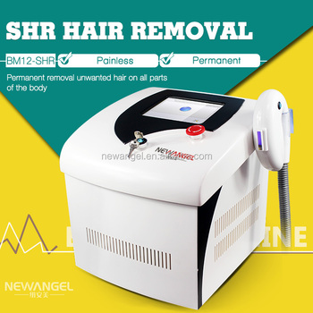 Portable home use SHR machine hair removal permanently