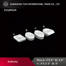 Wholesale high quality porcelain ashtray ceramic ashtray