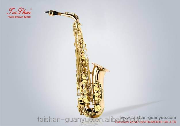 High quality new style lacquer alto sax in china