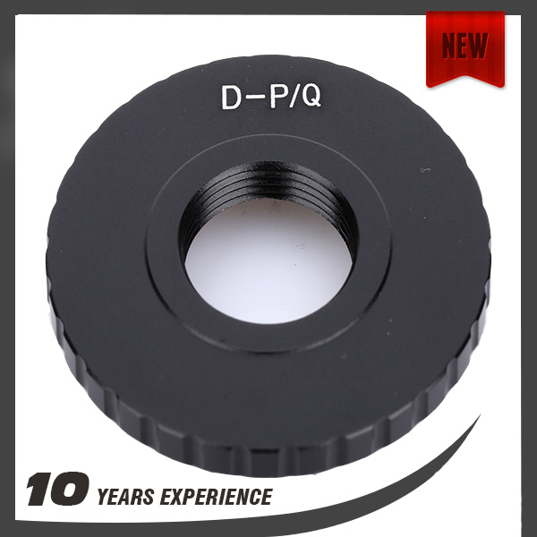 high quality factory price 8mm D-Mount Cine Film Lens to Pentax Q P/Q PQ Adapter Q10 Q7 Q Hybrid Camera