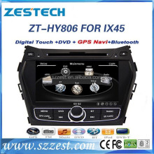 car audio for hyundai ix45 car audio Santa FE 2013 with gps vedio navigation media player ZT-HY806