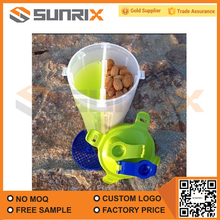 Best customized dual protein shaker bottle with certificate