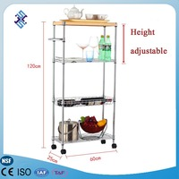 kitchen trolley cart ,kitchen storage shelf