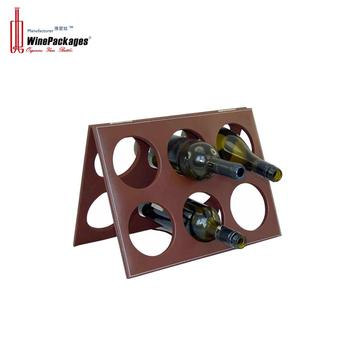 Stackable Commercial Wine Display Rack with hinge