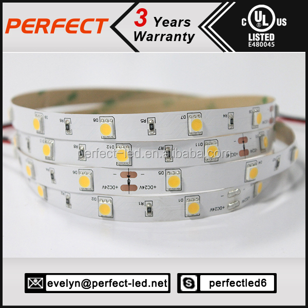 2016 Hot sale gold Supplier smd 5050 flexible led strip light with UL