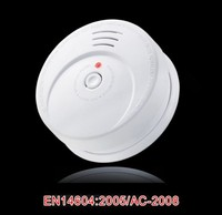 hot sell ! battery operated smoke detector case GS506 en14604 certificates