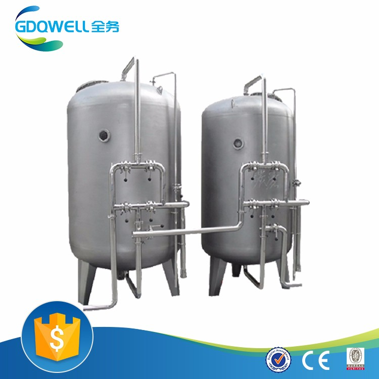 High Efficient SS Antibacterial Water Filter for Chemical and Electroplating Industry