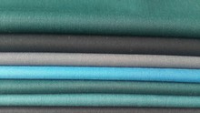 worsted polyester wool serge fabric for men suiting
