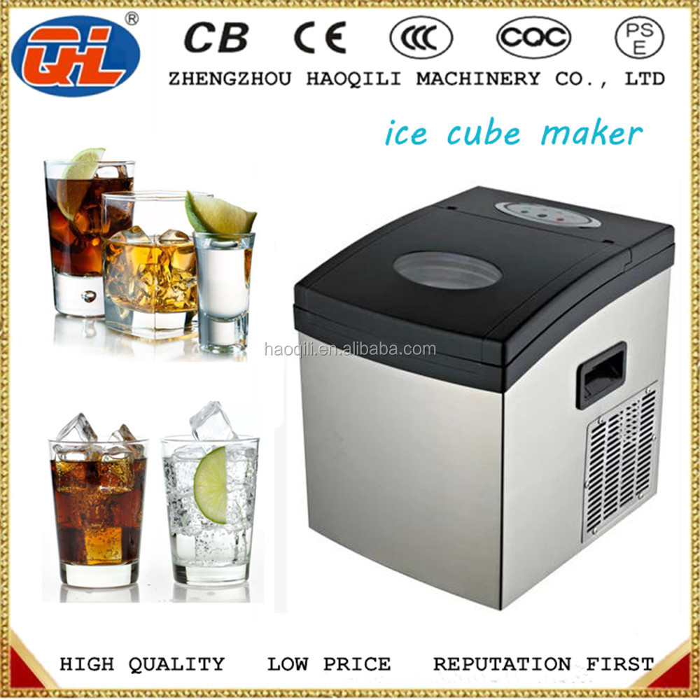 Ice Cube Maker Machine Water Efficient Cube Ice Maker Ice