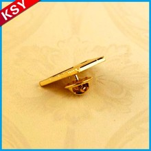 Fashionable Design Factory Price Metal Aircraft Lapel Pins Hard Enamel Suit Badge Buttons