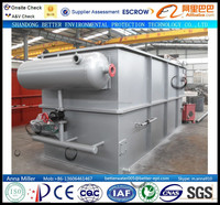 Dairy Production Wastewater Treatment Machine (dissolved air flotation units)