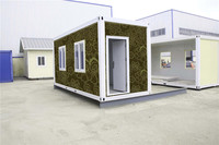 2016 bed modular 20 ft container home for Algeria