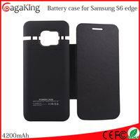 Battery case for Samsung S6 edge 4200MAH external charger case for Samsung galaxy s6 edge power case